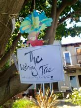 Compersion at The Alchemy: Wishing Tree in the garden