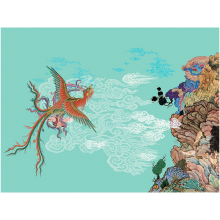 Hamid Rahmanian: Shahnameh artwork