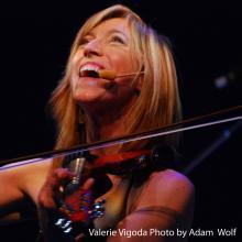 Valerie Vigoda Adam Wolf Violin
